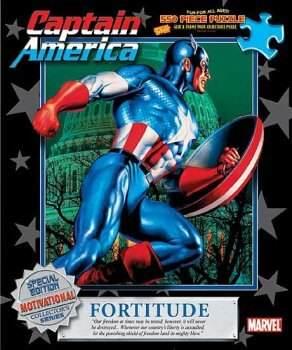 Captain America Jigsaw Puzzles