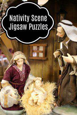 Nativity Scene Jigsaw Puzzles