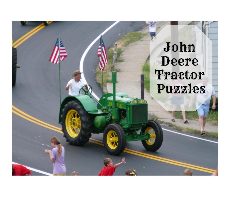 John Deere Tractor Puzzles